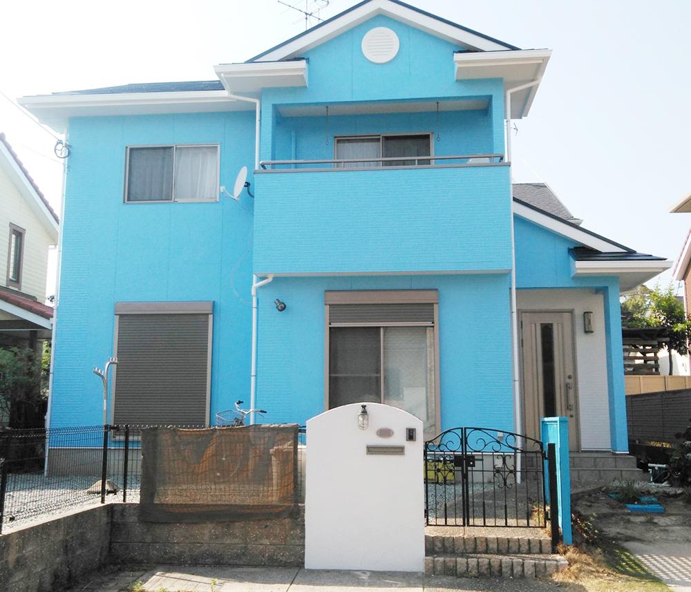 福岡市東区 I様邸 屋根・外壁塗装工事