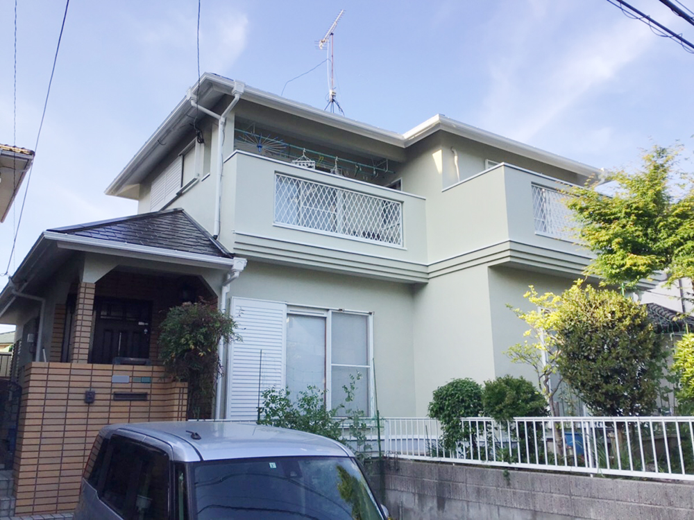 福岡市東区 N様邸 屋根・外壁塗装