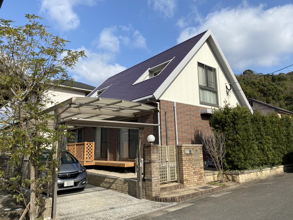 福岡市東区 K様邸 屋根・外壁塗装工事